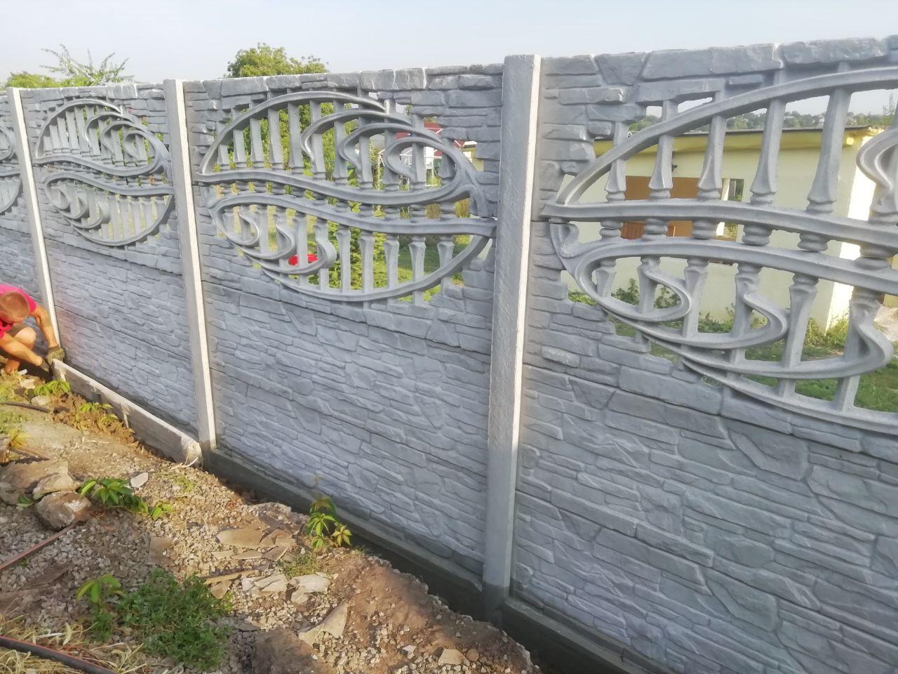Установка бетонного забора г. Запорожье, ул. Солидарности 7