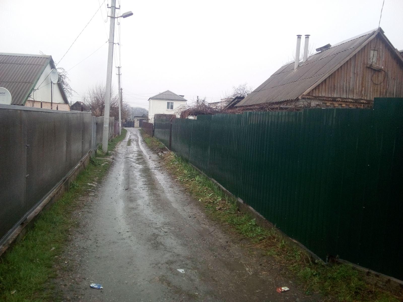 Установка забора из профнастила г. Запорожье ул.Нестерова